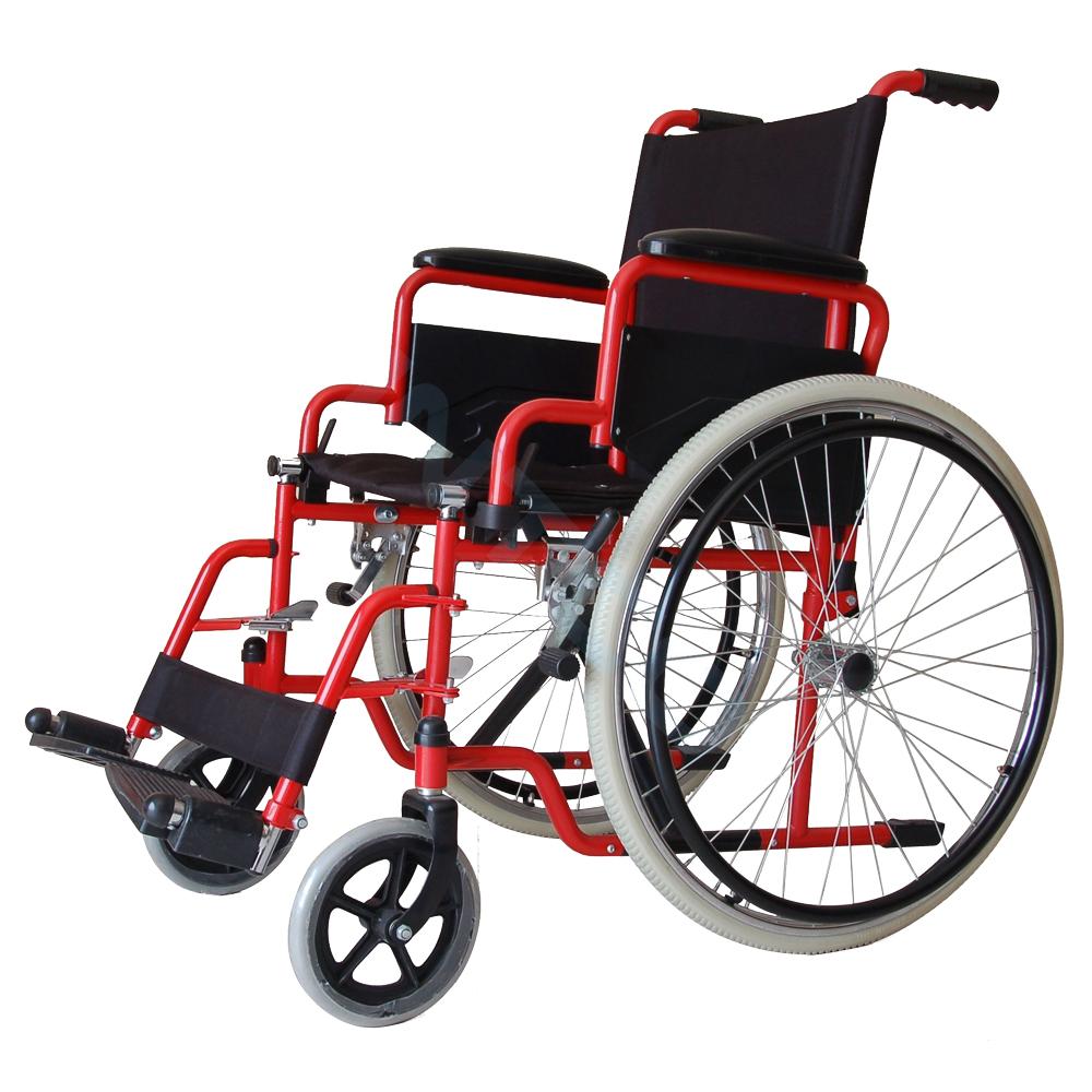Silla de ruedas est ndar de brazos y pies removibles for Silla de ruedas