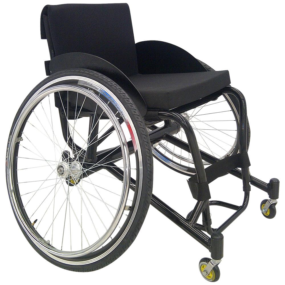 Silla de ruedas para tenis en aluminio metalicas for Silla neurologica